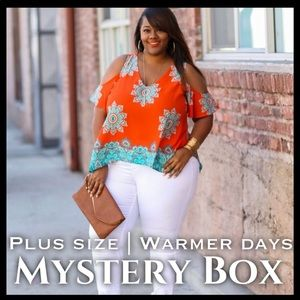 Tops - PLUS SIZE | WARMER DAYS MYSTERY BOX (4 ITEMS)